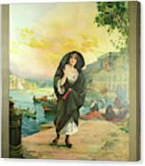 Vintage Poster - Malta Canvas Print