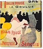 Vintage Poster - Toulouse Lautrec Canvas Print