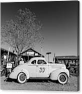 Vintage Race Car Gold King Mine Ghost Town Canvas Print
