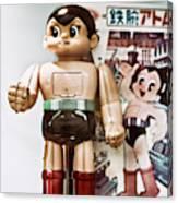 Vintage Robot Astro Boy Canvas Print
