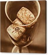 Vintage Vino Canvas Print