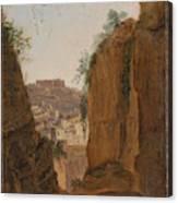 Virgil S Tomb  Naples  Canvas Print
