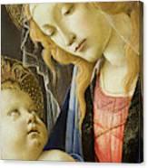 Virgin And Child Renaissance Catholic Art Canvas Print