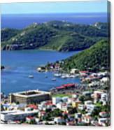 Virgin Island View Canvas Print