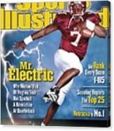 Virginia Tech Michael Vick Sports Illustrated Cover Canvas Print