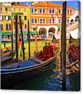 Visions Of Venice Canvas Print