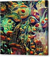 Vivid Masquerade Canvas Print