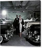Vogue 1952 Canvas Print