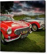 Volvo P1800 Classic Car Canvas Print
