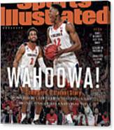 Wahoowa University Of Virginia 2019 Ncaa National Champions Sports Illustrated Cover Canvas Print