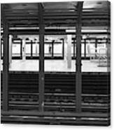 Waiting For The Metro Canvas Print