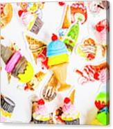 Wall Of Sweetness Canvas Print
