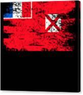 Wallis Futuna Shirt Gift Country Flag Patriotic Travel Oceania Light Canvas Print