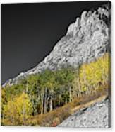 Waning Gibbous Moon Autumn Monarch Pass Bwsc Canvas Print