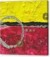 Warm Abstract Canvas Print