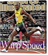 Warp Speed 2012 Summer Olympics Sports Illustrated Cover Canvas Print