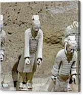 Warriors Of Pit 2, Xian, China Canvas Print