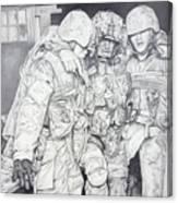 Wartime Loyalty Canvas Print