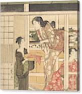Washing Day Canvas Print
