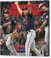 Washington Nationals, 2019 World Series Champions Sports Illustrated Cover Canvas Print