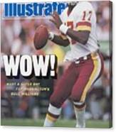 Washington Redskins Doug Williams, Super Bowl Xxii Sports Illustrated Cover Canvas Print