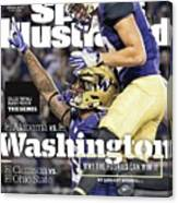 Washington Why The Huskies Can Win It, 2016 College Sports Illustrated Cover Canvas Print