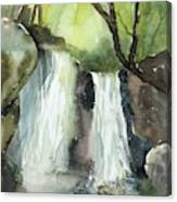 Watcom Falls Canvas Print