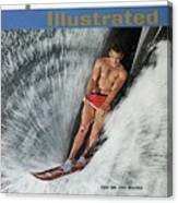 Water Skiing Sports Illustrated Cover Canvas Print
