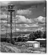Water Tower In Hillsborough New Brunswick Canvas Print