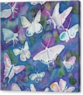 Watercolor - Butterfly Design Canvas Print