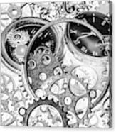 Wayback Watch Workshop Canvas Print