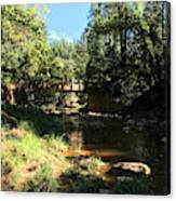 Webber Creek Bridge Canvas Print