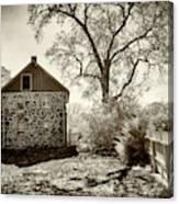 Weikert House At Gettysburg Canvas Print