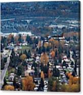 Wenatchee In November Canvas Print