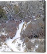 West Dakota January Prairie Canvas Print