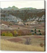 Western Edge Grasslands Grandeur Canvas Print
