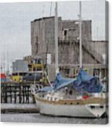 Westport Docks Canvas Print