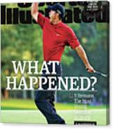 What Happened It Remains The Most Vexing Question In Sports Sports Illustrated Cover Canvas Print