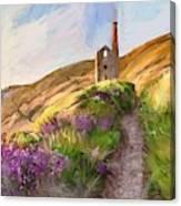 Wheal Coates - Cornwall  Canvas Print