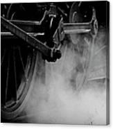 Wheels  State Railway Of Thailand Srt Canvas Print