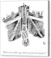 When Under Siege Canvas Print