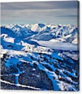 Whistler In Winter Canvas Print
