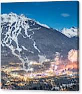 Whistler Nights Canvas Print