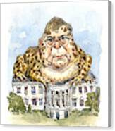 White House Toady Canvas Print