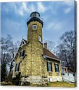 White River Lighthouse Canvas Print