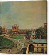 Whitehall From Richmond House Canvas Print