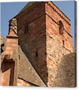 Whitekirk 12th Century Church Tower In East Lothian Canvas Print