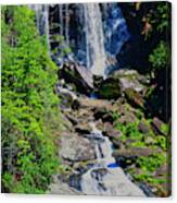 Whitewater Falls Top Canvas Print