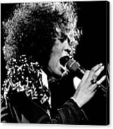 Whitney Houston Live In Concert Canvas Print