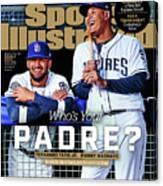 Whos Your Padre 2019 Mlb Season Preview Sports Illustrated Cover Canvas Print